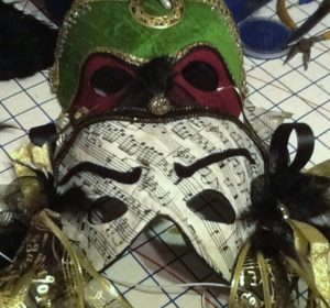 Custom made and ready made venetian style masks