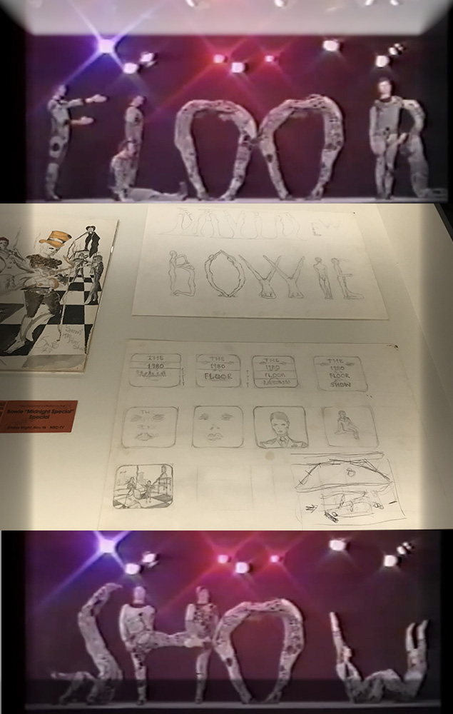 Storyboard from the 1980 Floor Show