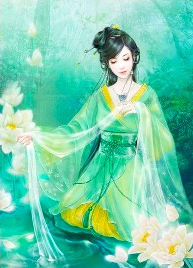Leizu weaving her magic